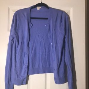Periwinkle Blue/Purple Cardigan